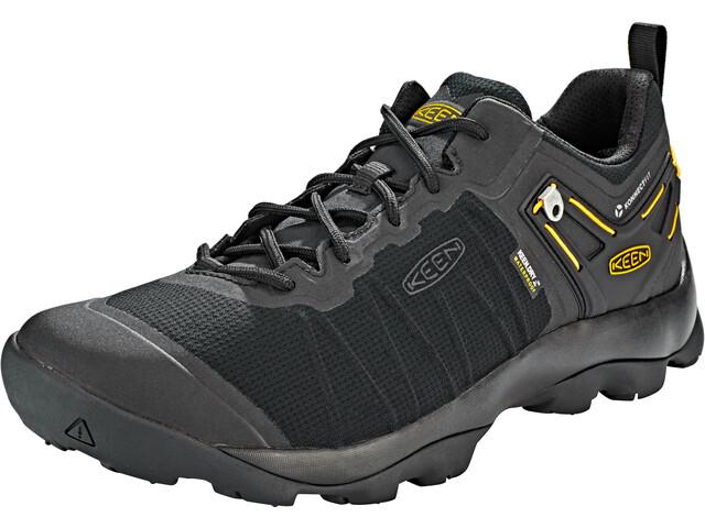 Keen Venture WP Shoes Herren black/vibrant yellow